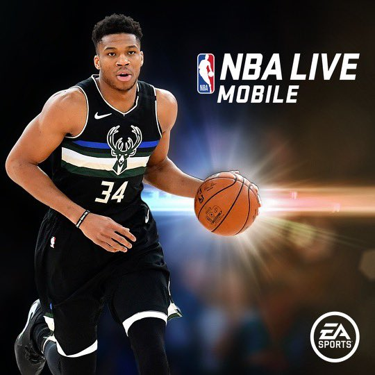 I'm pumped to be the new cover athlete NBA Live Mobile!   Download the app or get the update from the Google Play/App Store today & start earning my new player item #EAathlete  Did I mention my player item has the highest OVR in the game 😏