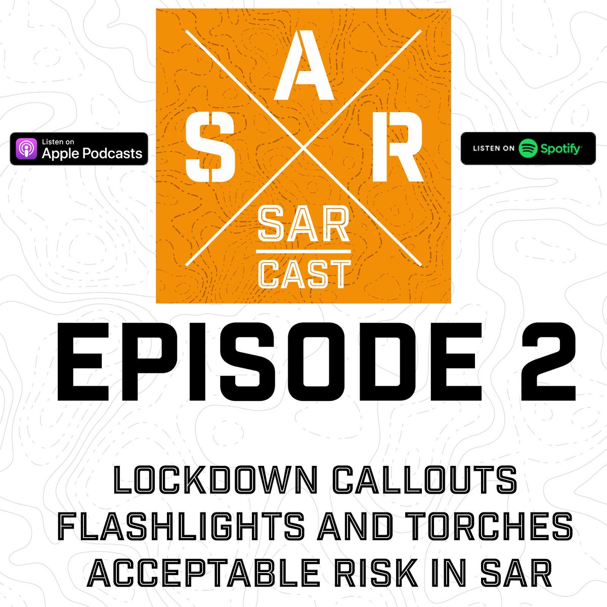 @SARCastUK episode 2 is out now!   Available from all your usual Podcast apps 👍🏻  #podcast #searchandrescue #sar #Rescue #ukpodcast #searchandrescuepodcast