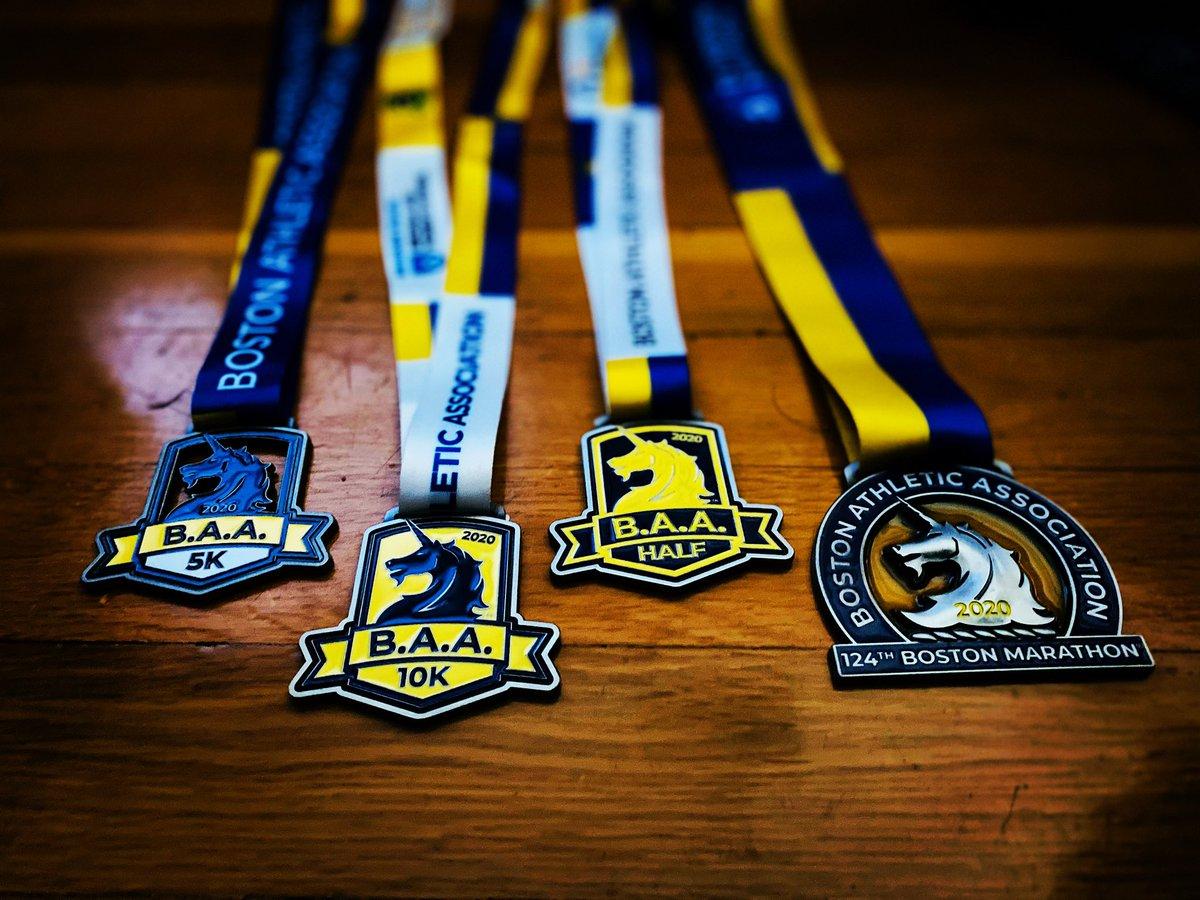 @BAA 4 historic races 💛💙 #finishstrong
