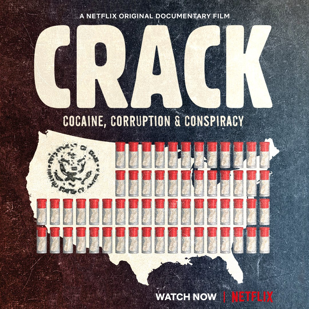 To learn more about the history of crack cocaine in the US, watch Nelson's documentary CRACK: COCAINE, CORRUPTION & CONSPIRACY, now on Netflix globally.