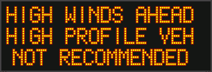Image posted in Tweet made by Caltrans San Diego on January 19, 2021, 9:39 pm UTC