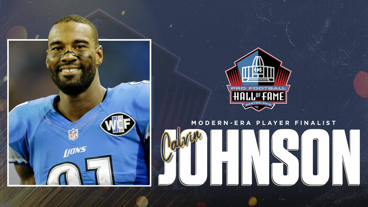 The HOF Selection Committee is meeting virtually today to discuss the candidates for the #PFHOF21 Class.  Final of the day: Selector @davebirkett presented on behalf of Modern-Era Player Finalist @calvinjohnsonjr.  @Lions