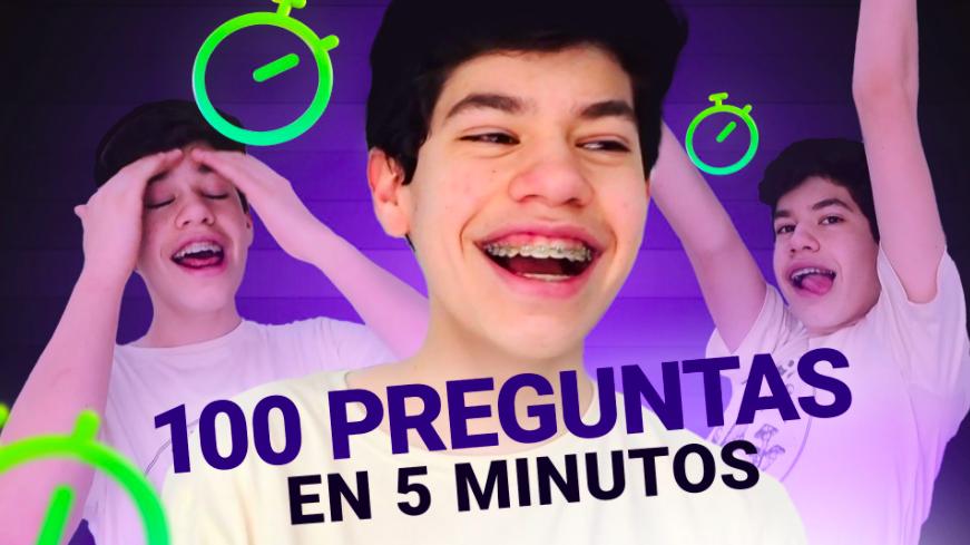 ¿Le hicimos 100 preguntas a Josi Martínez? SÍ, y nos contestó TODO. ¿Le gusta La Divaza? ¿Haría 24 hs con un fan? ¿Haría una serie de su vida? 🔥💥 Descubre si logra responderlas todas en 5 minutos.