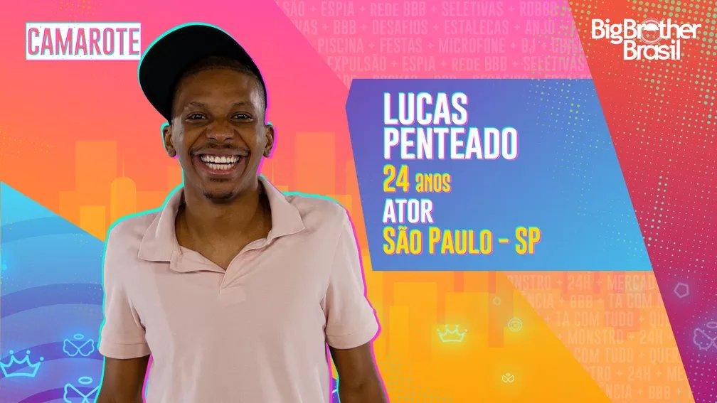 """""""Eu vou me divertir à beça. Sou alegre, o retrato da felicidade periférica""""  Leia o perfil completo do Lucas Penteado →  👀 #RedeBBB #BBB21"""