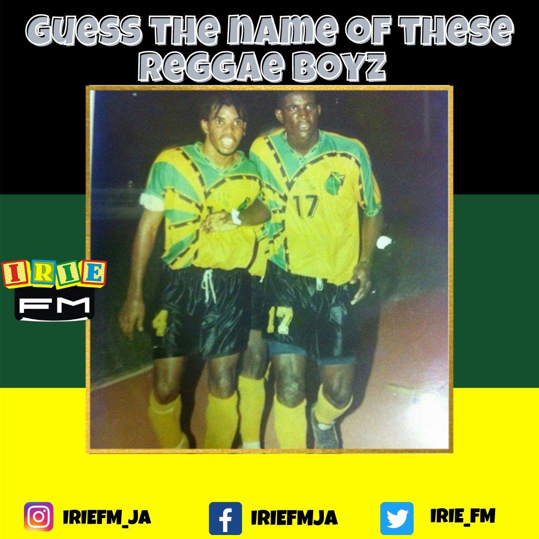 WHO DEM YAH ??  Follow 👉 @IRIEFM_JA  #reggaeboyz #jamaica #IRIEFM🇯🇲 #throwback #memories #tbt  #onelove