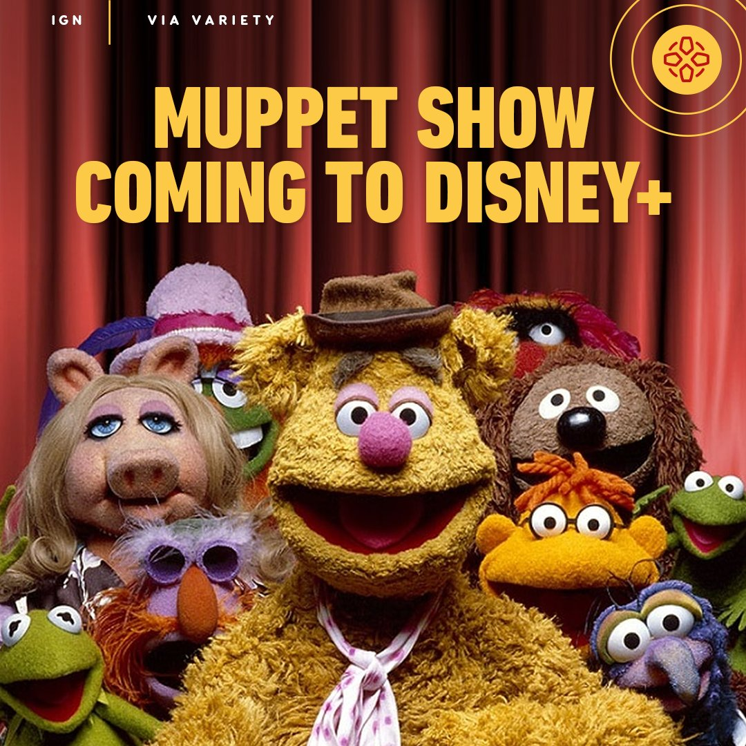 """""""It's time to play the music, it's time to light the lights!""""  All 120 episodes of the original Muppet Show will begin streaming on Disney+ February 19, 2021."""