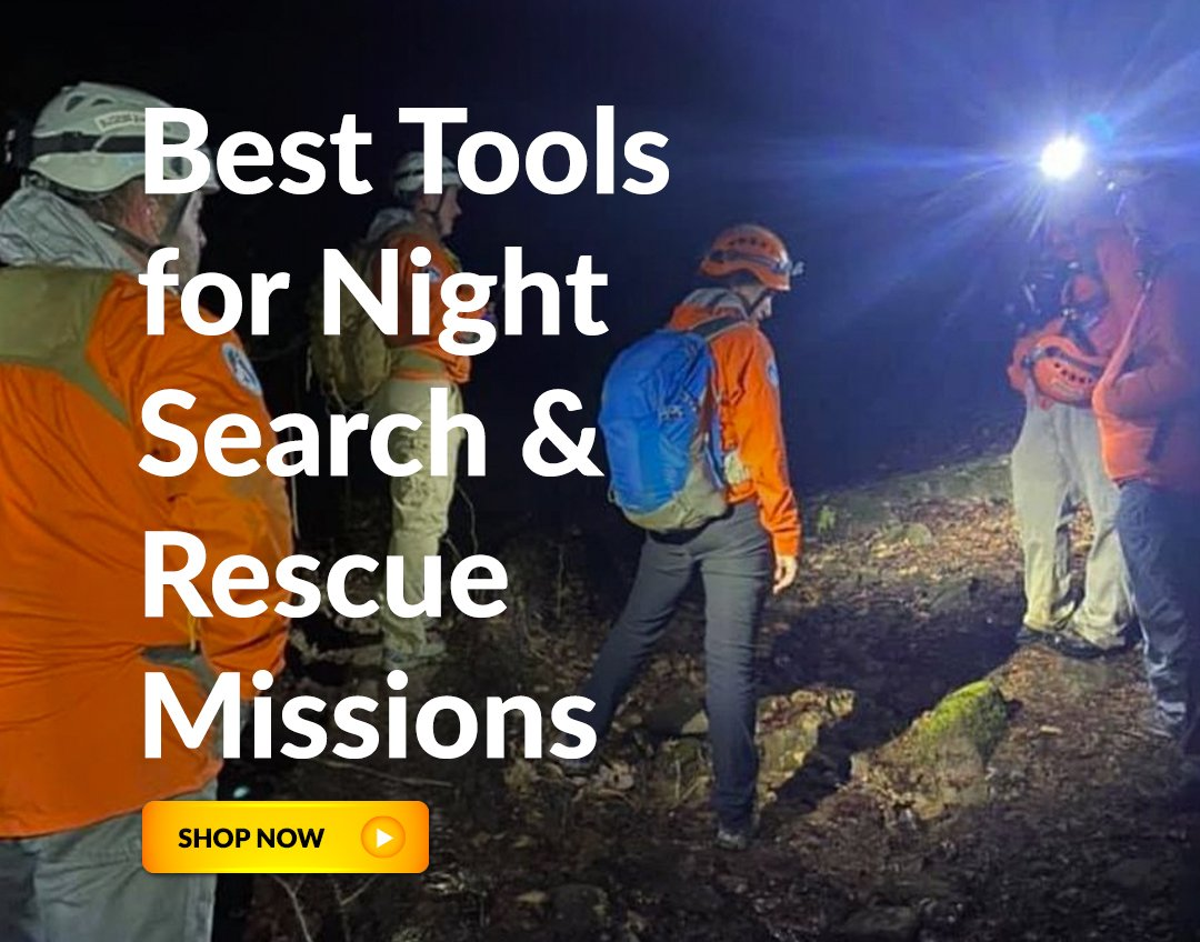 According to the National Park Service, there are an average of six hiking deaths a week! Get the best #safety #lighting #tools for #SAR teams! Check out this blog featuring the #FoxFury line of #search and #rescue devices.