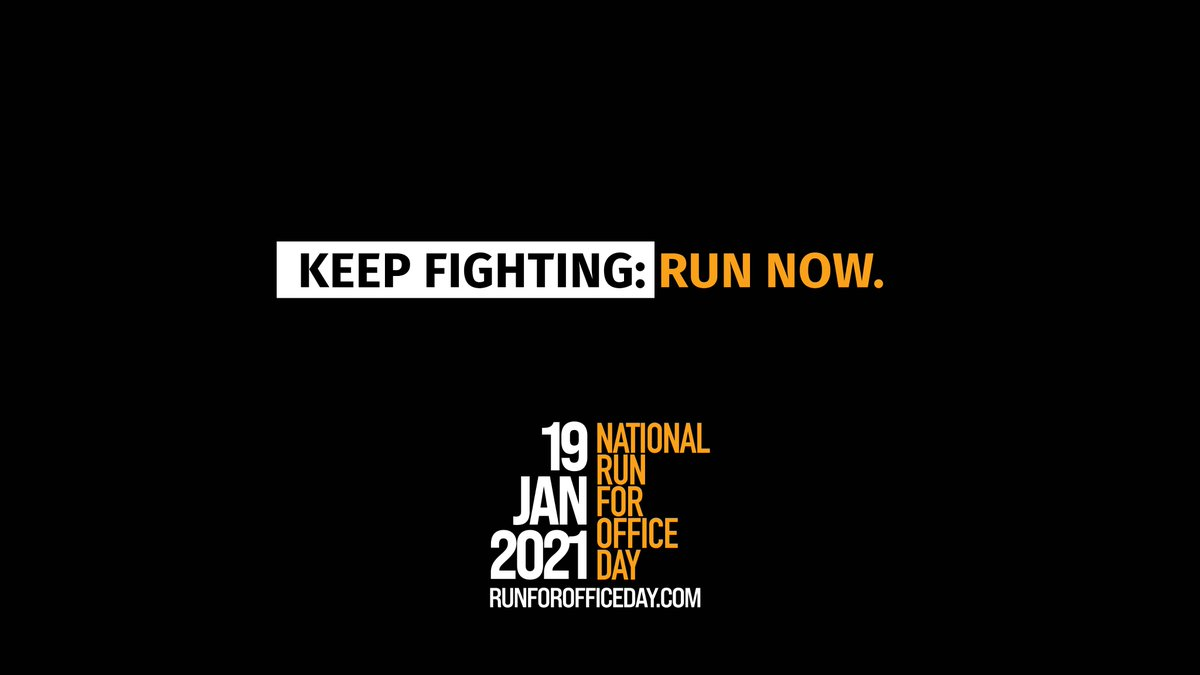 Our country is getting younger, more progressive, and more diverse. Our elected leaders should be as well. On National Run for Office Day, be the change you want to see in local politics: run for office.  #NationalRunforOfficeDay @runforsomething