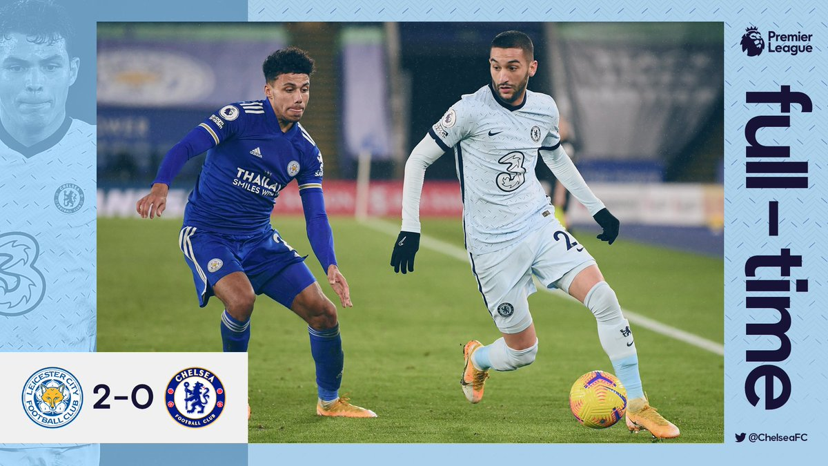 Replying to @ChelseaFC: FT.   #LEICHE