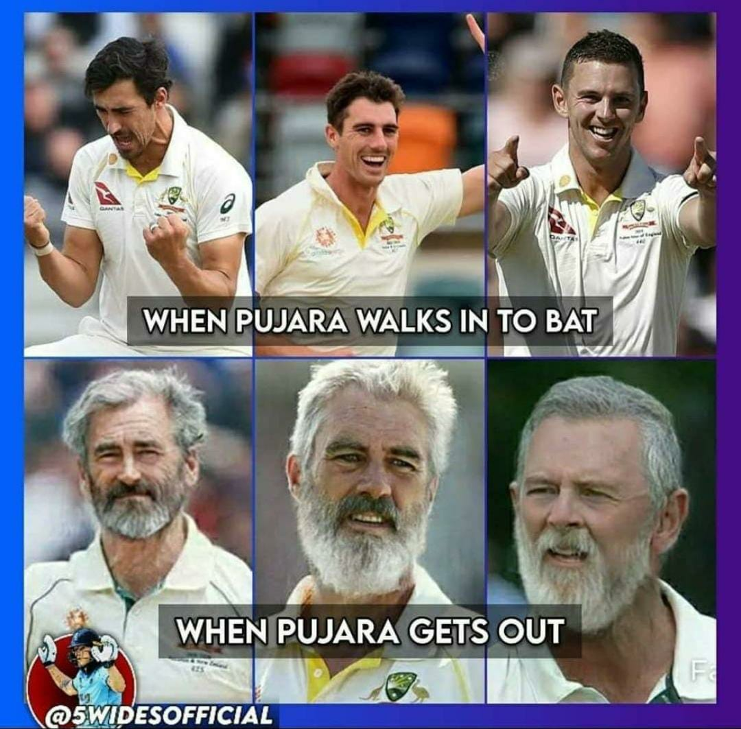 #INDvsAUS pujara the wall