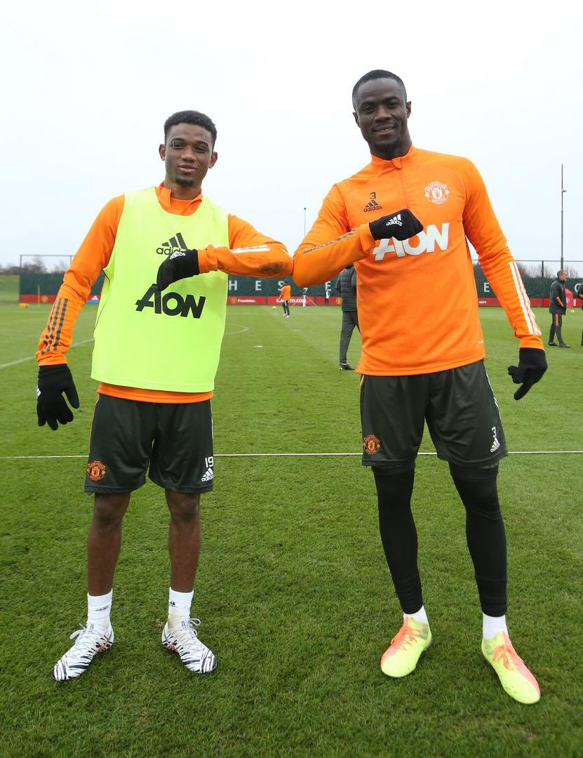 """Solskjaer on Amad Diallo: """"He'll need] some adjustment to settle into the hustle and bustle of the physical part of the Premier League. I can't see it being too long until he's in the squad."""" #MUFC"""