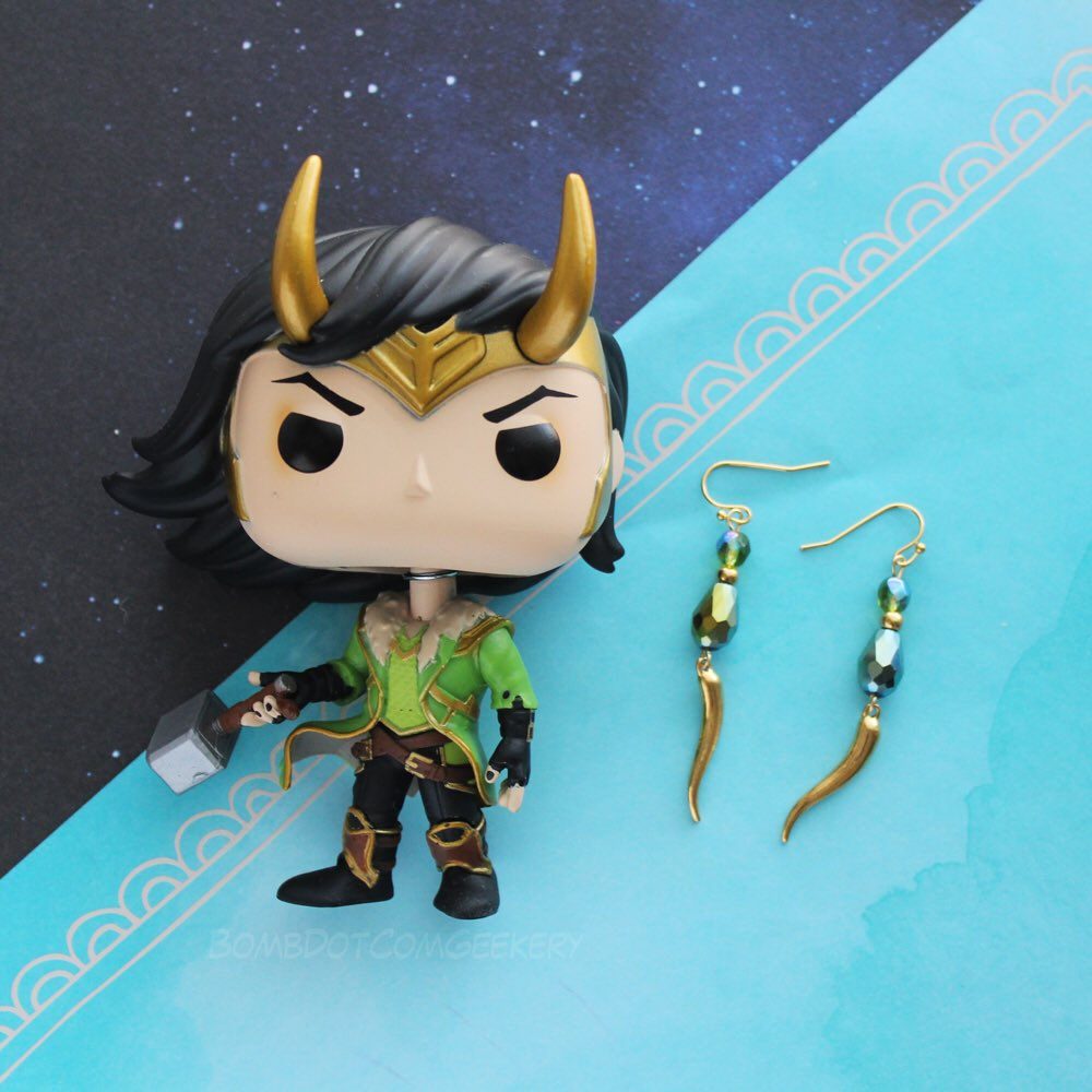 Trickster Tuesday with #Loki 💚😈