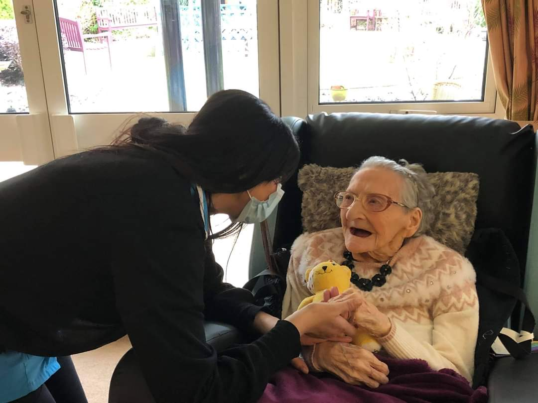 A smiling face is a beautiful face. A smiling heart is a happy heart.   Our residents may not remember days but they definitely will remember those moments! Lets make a difference! #Caring