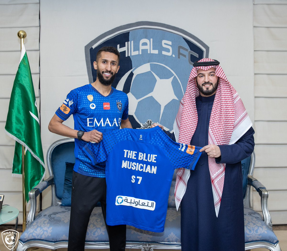 Replying to @Alhilal_EN: 📸 S7 🎼🤩 #AlHilal 💙