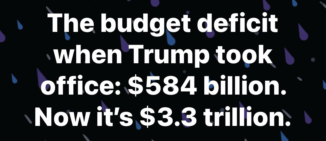 Replying to @HamillHimself: Countdown to 12 noon tomorrow, when Republicans suddenly start caring about the deficit again.