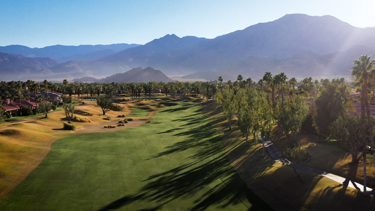 Replying to @PGATOUR: PGA West is primed and ready. 😍⛰