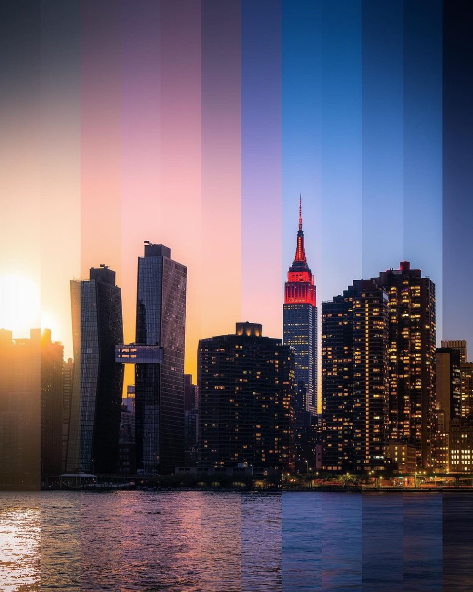 The heart of NYC beats on tonight  ❤    We join President-elect @JoeBiden in honoring all the American lives lost to COVID-19 with our dynamic red lights. #COVIDMemorial  @aliciakeys 'Empire State of Mind' light show plays at 9PM, synced on @z100NewYork.  📷: zura(.)nyc/IG