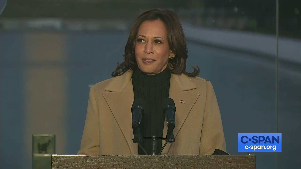"""Vice President-elect Kamala Harris: """"Tonight we grieve and begin healing together.""""  Full video here:"""