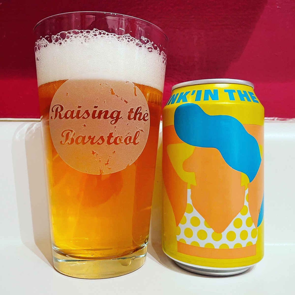 Drink'in the Sun from Mikkeller in my new glass! #DryJanuary