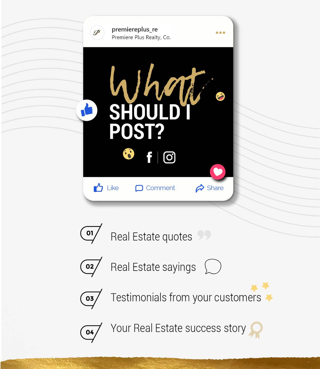 Do you want more tips?  Check out our Instagram page!  #PPR #realestatetips