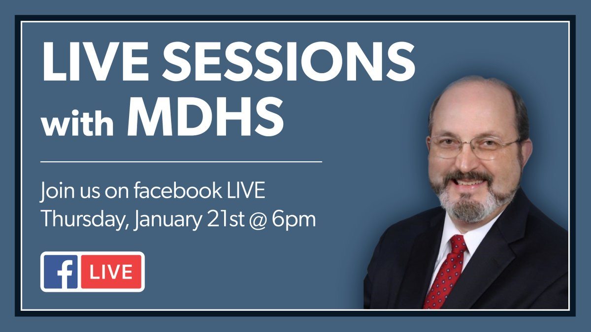 We are excited to announce our series of Virtual Town Hall Meetings. Got questions for Executive Director Anderson he wants to hear from you. Send questions  to MDHS.Communications@mdhs.ms.gov #MSMDHS #MSMDHSTownHall  #VirtualTownHall #Facebooklive  #socialdistancing https://t.co/NgC0u67Phb