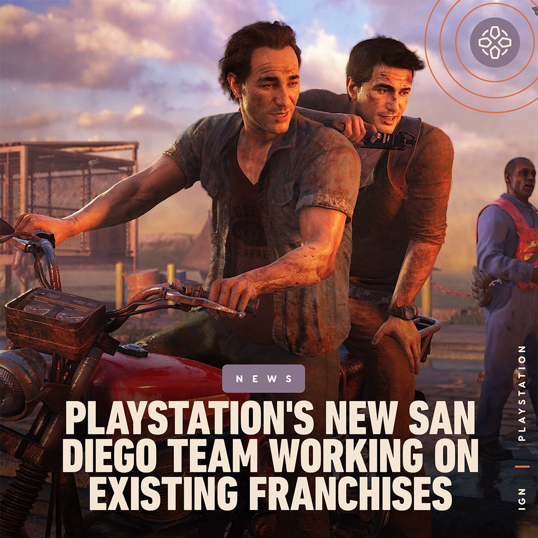 """PlayStation's rumored new San Diego-based studio is working to """"expand upon existing franchises,"""" according to the LinkedIn profile of its former studio head."""