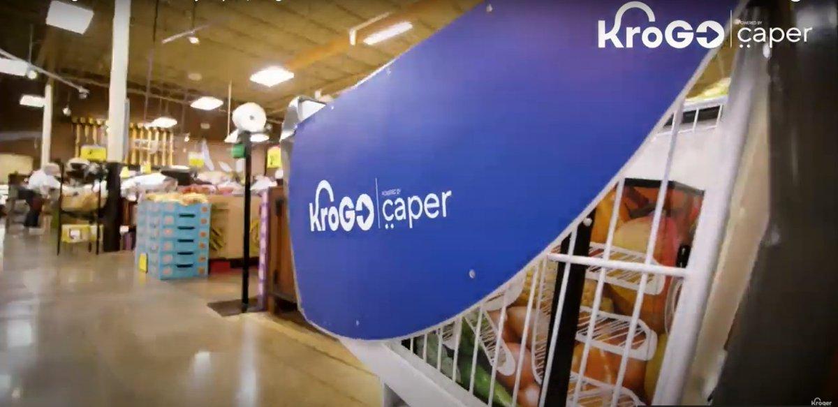 KroGo: el nuevo smart cart de los supermercados que permite hacer compras más rápidas limitando el contacto humano.  https://t.co/tYSGQWYHwo https://t.co/spesuKiayi