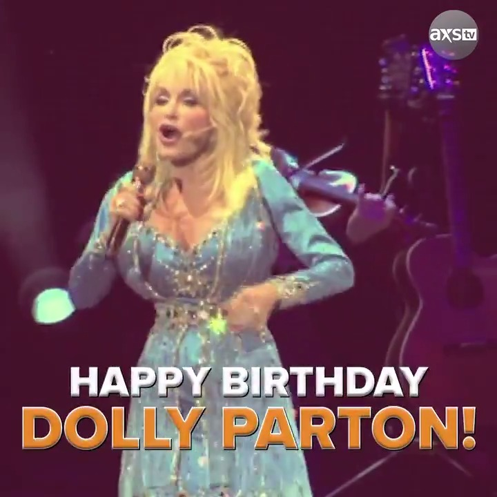 Happy birthday to the living queen of country music herself, @DollyParton! 👑