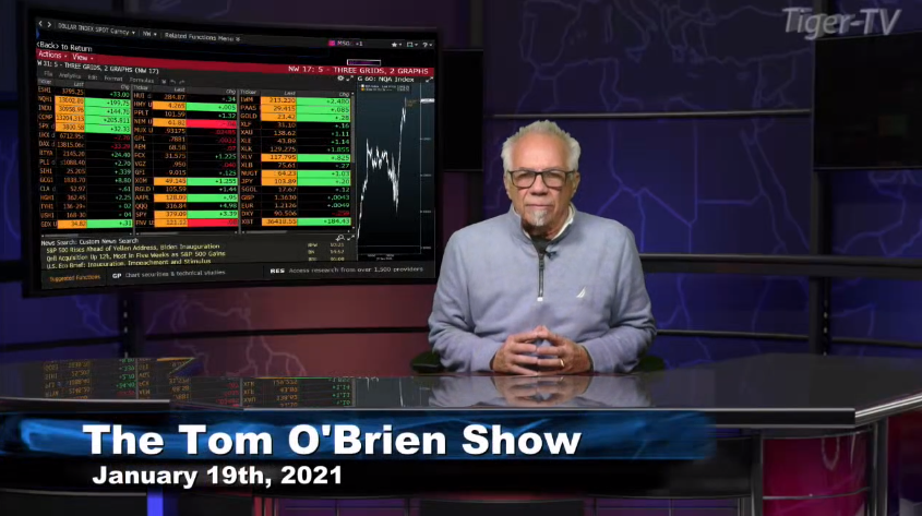 Tom O'Brien hosts the Tom O'Brien Show for Tuesday on @TFNN and discussed $QQQ $LRCX $MU $GC $GBP $NFLX $SI and more! #Learntotrade #TFNN #StockMarketNews #Financialeducation #TradingView #MarketInsights #TheGoldReport