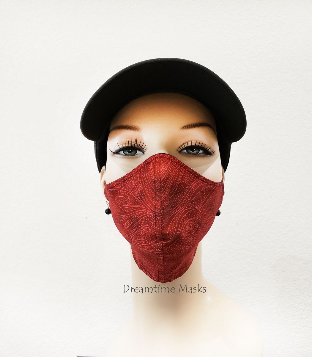 Red Face Mask Washable Cotton Over The Head Face Mask Scarlet Crimson Ruby Red Print Face Covering https://t.co/cEezdiO9Tl #staysafe #facemask #facemasks #stayhome #Etsy #wearthedammmask https://t.co/lHhvjnebdl