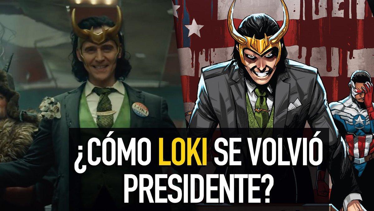 #NuevoVideo  Conoce varios verdaderos datos ocultos de la próxima serie de #Loki  👉🏻