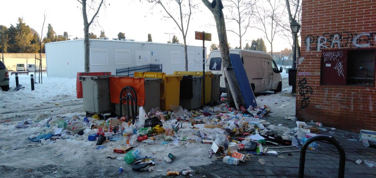 @FelixLopez_Rey #SanIsidroExiste #MadridFallido #VisiteMadrid #MadridNevado #MadridSucio #Caravanchel