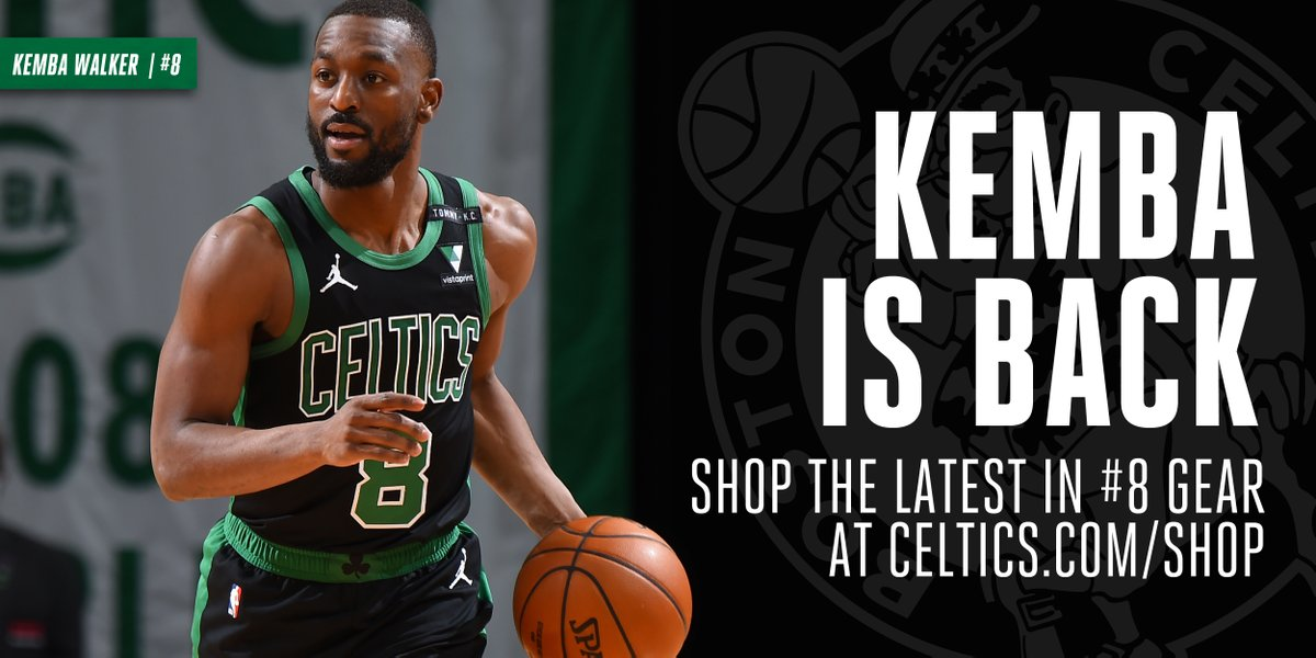 #NBA #BleedGreen Kemba is back and ready to make a statement Trébol   Rep 8 this season  https://t.co/tv1s3M0pog