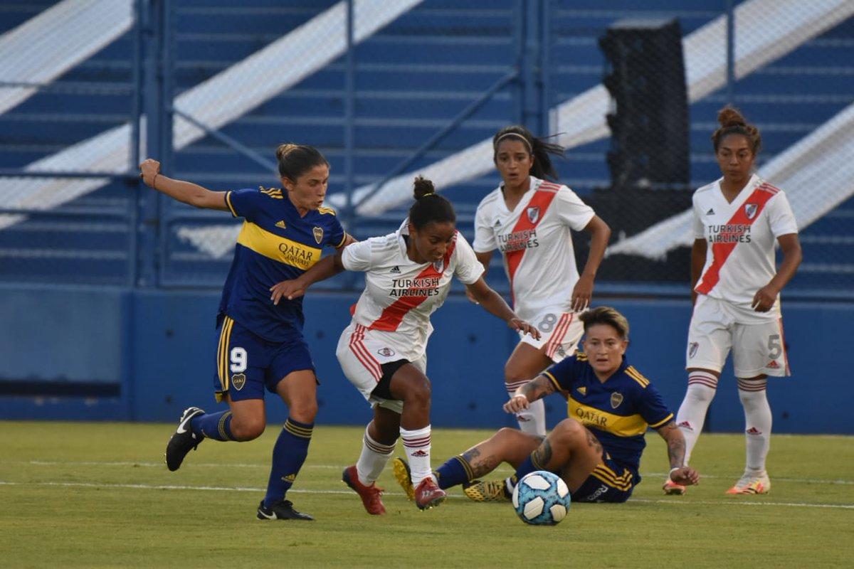 #SuperFinalSuperClásica 🏆  Se juega la segunda parte en el Estadio Amalfitani: Boca le gana a River 5-0.