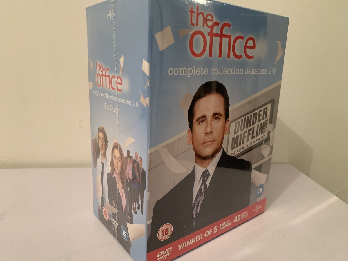 Did something amazing, I had to buy this. Will always have these to make me laugh! My new obsession, sort of hoping for a reunion show with them all🤞🏼😁 @theofficetv @johnkrasinski @jennafischer #theoffice 🤍