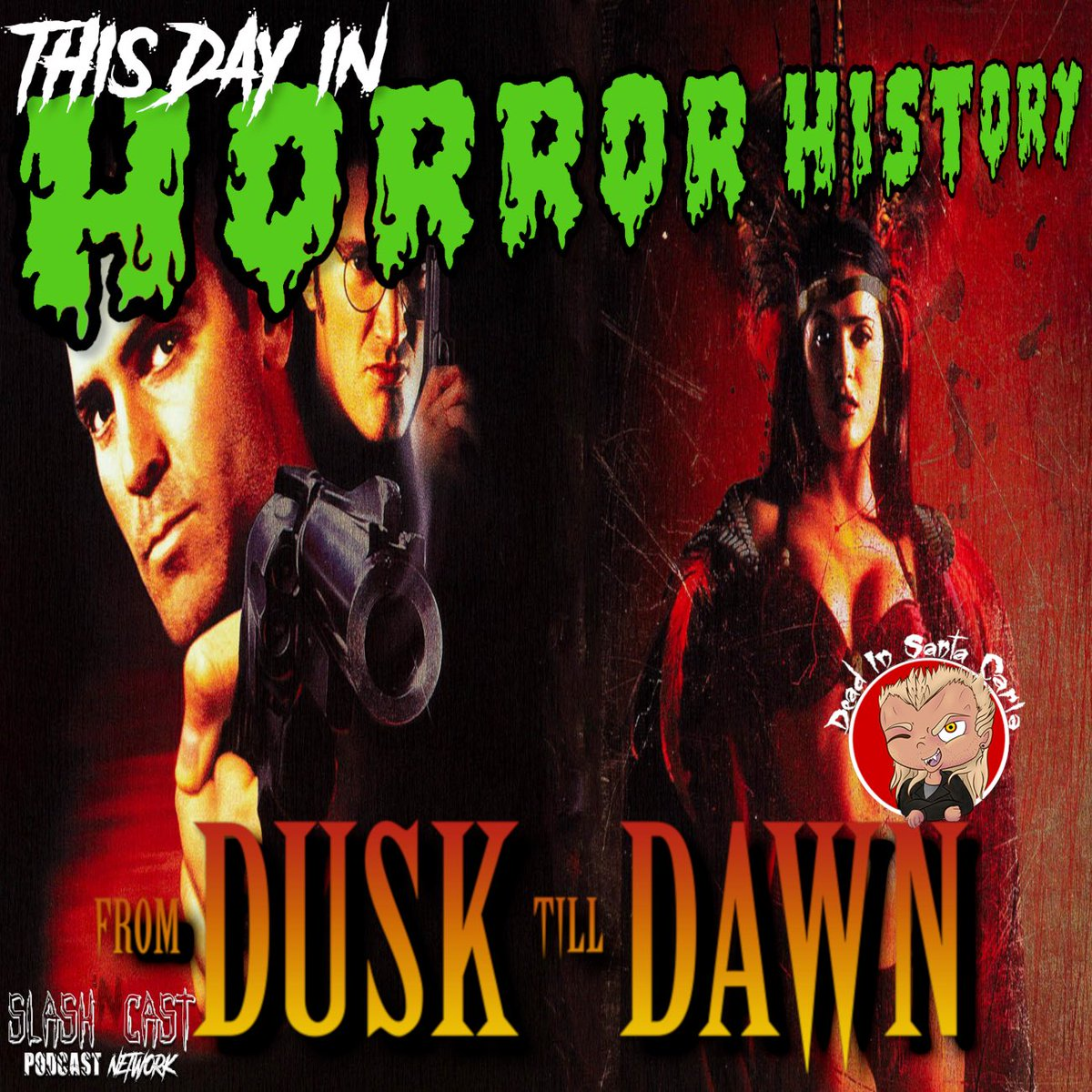 #OnThisDay in 1996, #FromDuskTillDawn debuted in theaters! Happy 25th birthday, PU**Y LOVERS! 🩸🩸🩸🩸