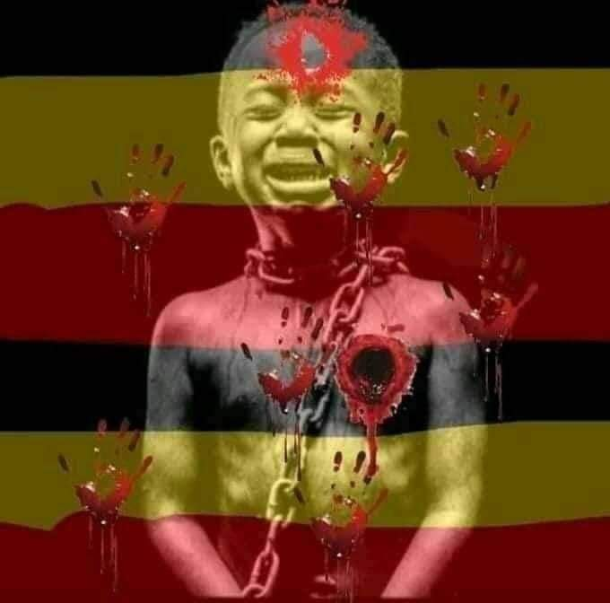 @BBCWorld GENOCIDE IN UGANDA BY DICTATOR MUSEVENI UGANDA IS BLEEDING NOT SAVE FOR HUMAN LIFE #SAVE UGANDA BOBI WINE TO DIE OF STAVATION IN THE HOUSE WITHOUT FOOD #MuseveniRigsElections2021  #HumanRights  #CNNIndonesia  #CNN  #AlJazeera  #EU  #BobiWine  #Africa  #JoeBiden  #FoxNews  #SkyNew