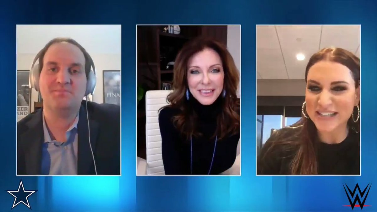.@wrestlemania is returning to #ATTStadium in 2022‼️   Watch as @CJonesAnderson & @WWE's @stephmcmahon share their excitement & discuss what makes WrestleMania such a special event.  🎥