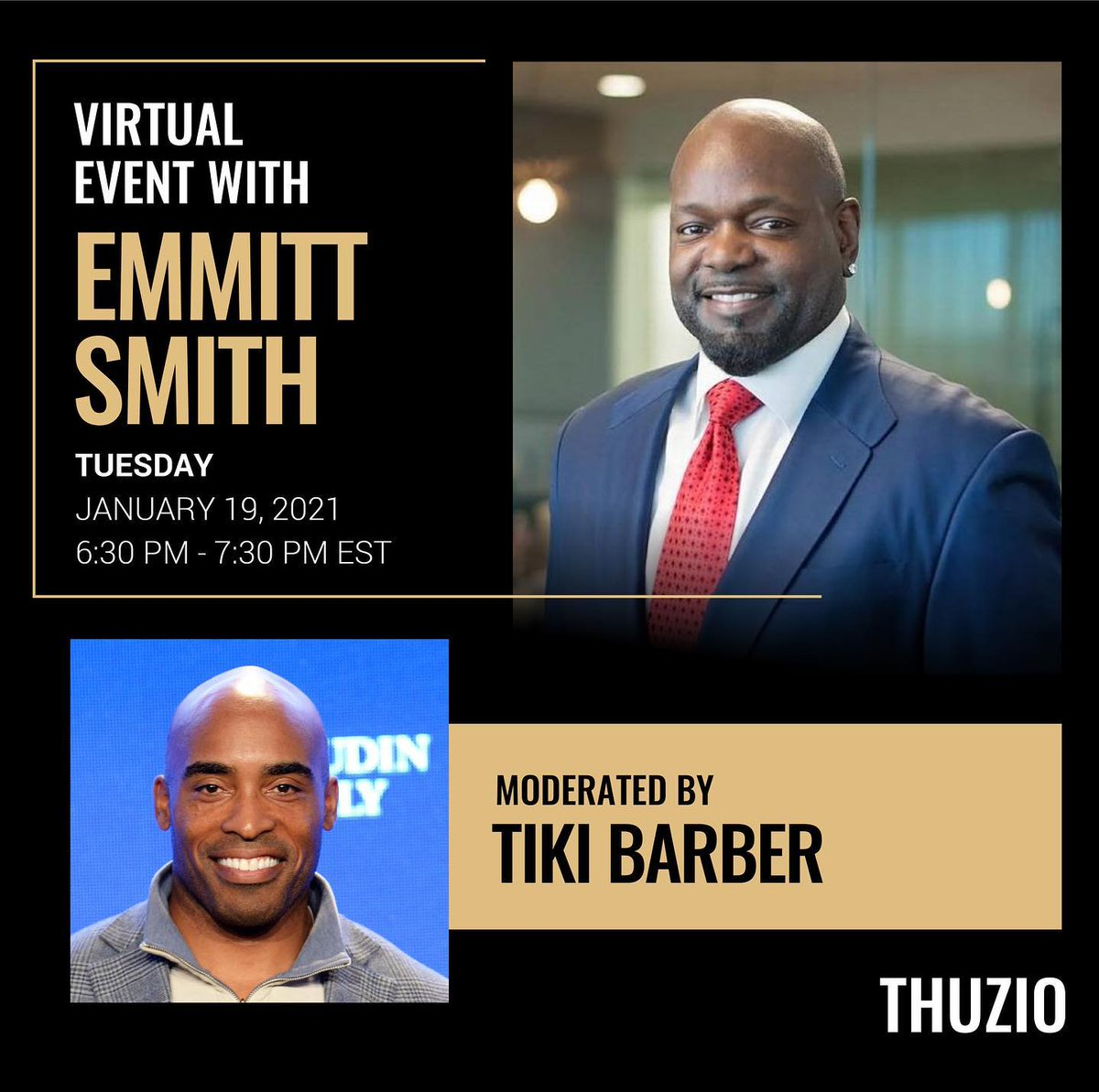 Getting ready to go live with my man @TikiBarber and @Thuzio!