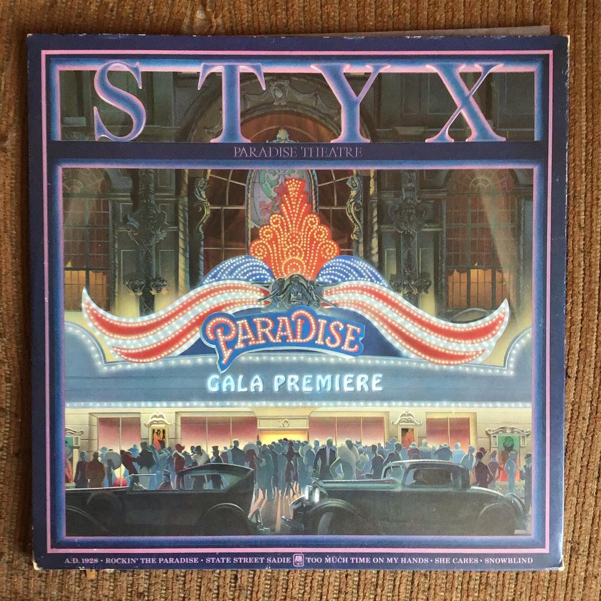 #OnThisDay January 19, 1981 @STYXtheBand released their tenth studio album #ParadiseTheater charted at #1 on the @billboardcharts  #8 on the @officialcharts.  The album is certified 3x platinum and includes the single #TheBestofTimes #TooMuchTimeonMyHands.