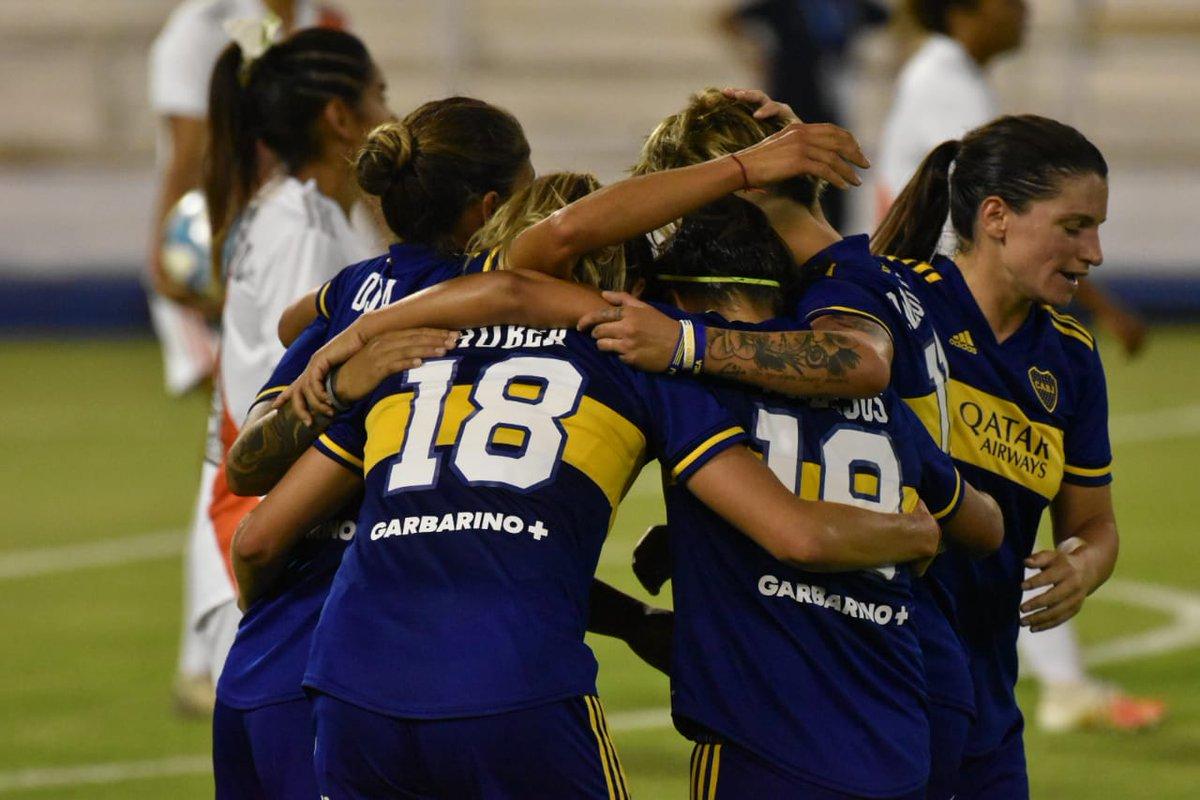#SuperFinalSuperClásica 🏆  16' ST⏰Fabiana Vallejos volvió a inflar la red: Boca derrota 7-0 a River.