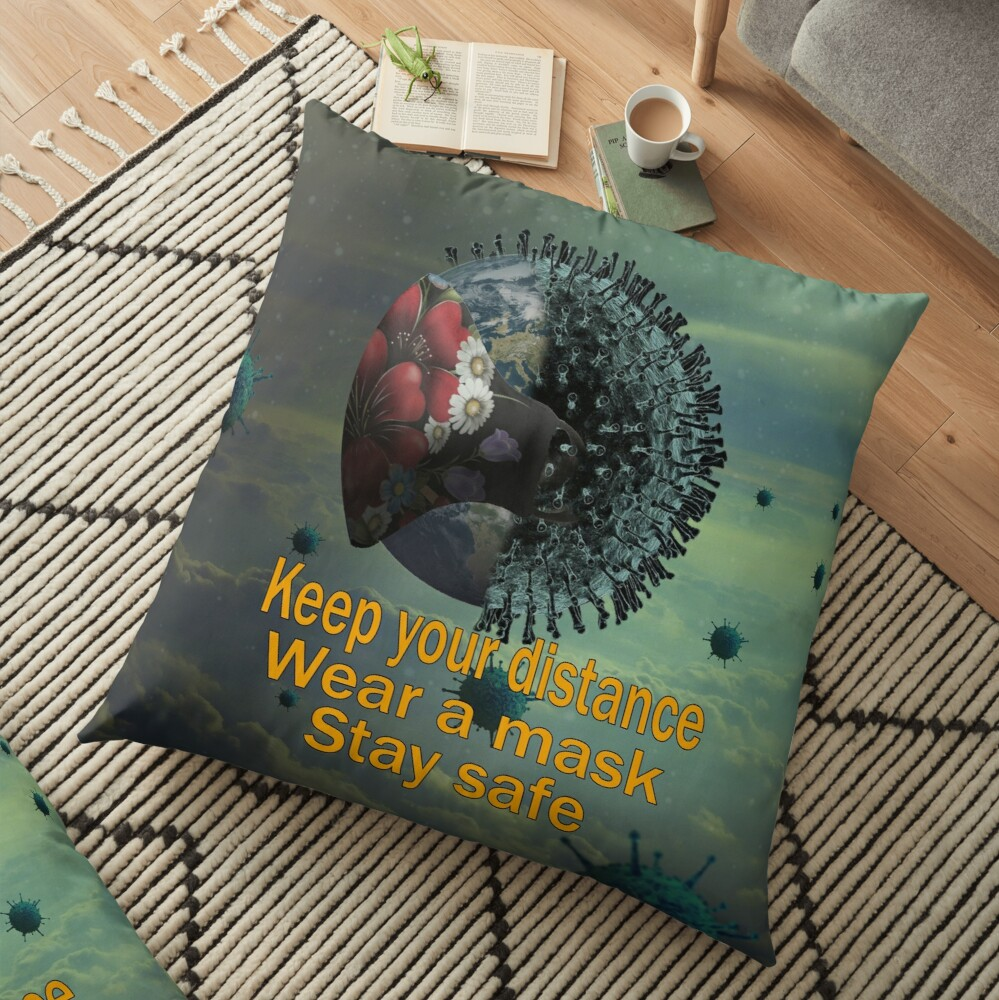 A lovely #floorpillow, #facemask and #tshirt design with Keep your distance, wear a mask and stay safe! 😷😎  More info click here :https://t.co/fHPBpPUxsN https://t.co/vG11vTgpVB   #findyourthing #redbubble #tshirtdesign #mask  #Covid #StaySafe #giftideas #gifts #safeplanet https://t.co/24x9qZPNOw