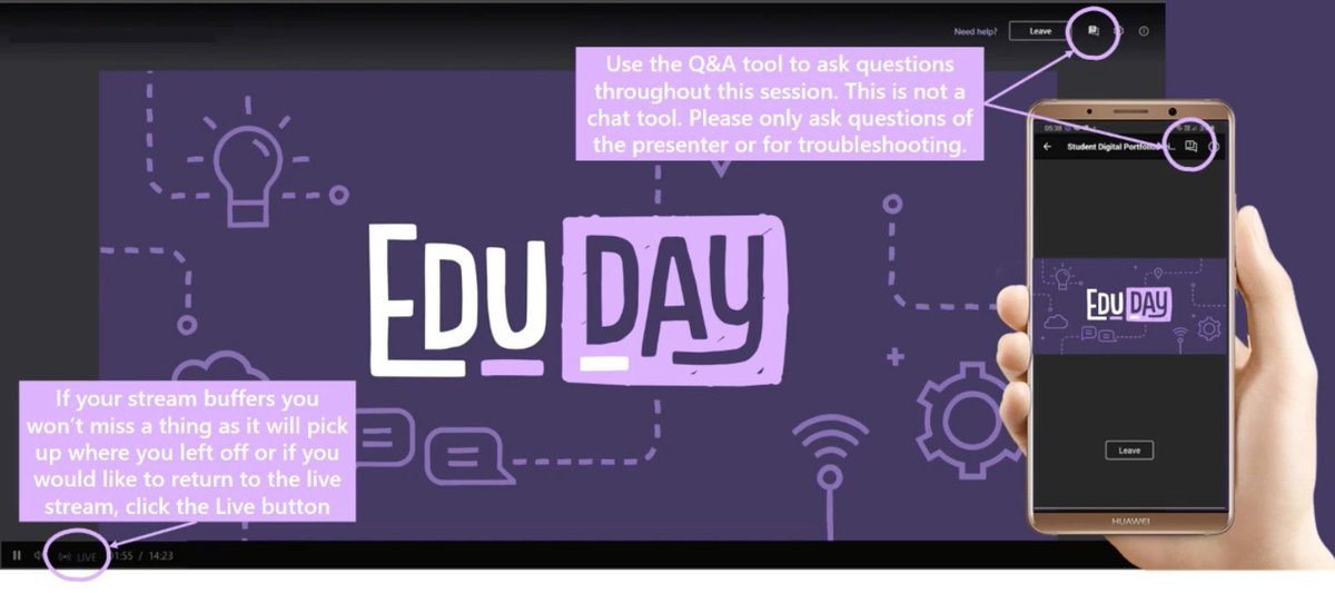 It's #eduday2021 Looking forward to a day full of learning @MSAUedu