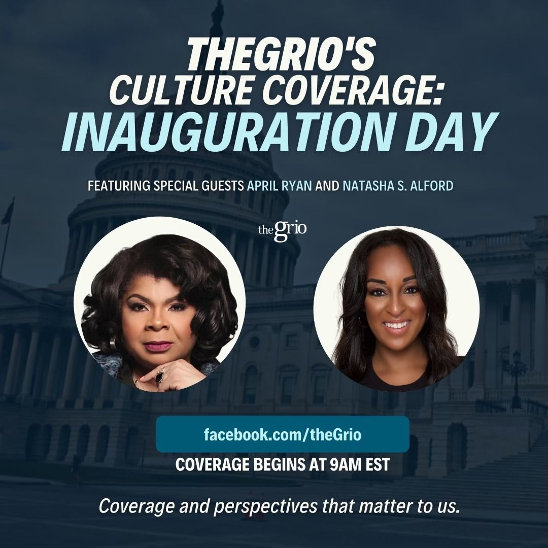 TUNE IN tomorrow as I co-host @theGrio's #Inauguration2021 live coverage with @NatashaSAlford. Our #CultureCoverage starts at 9am ET.  WATCH here:   #Inauguration #theGrio