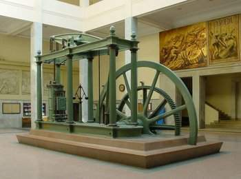 James Watt FRS was born #OnThisDay in Greenock, Scotland in 1736. Watt was an autodidact engineer is well known for his revolutionary steam engine.  @royalsociety