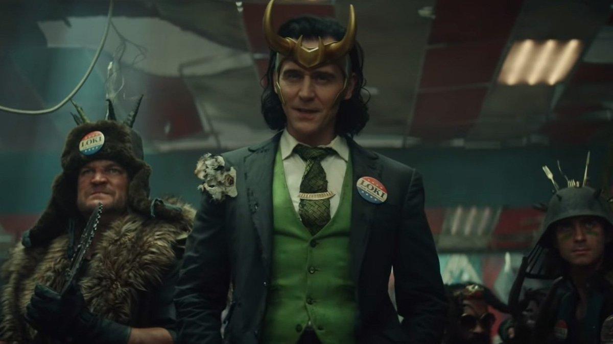 Quiero un pin de Loki For President 😭  #Loki #LokiSeries #MCU #UCM #MarvelSeries #LokiForPresident #TomHiddleston