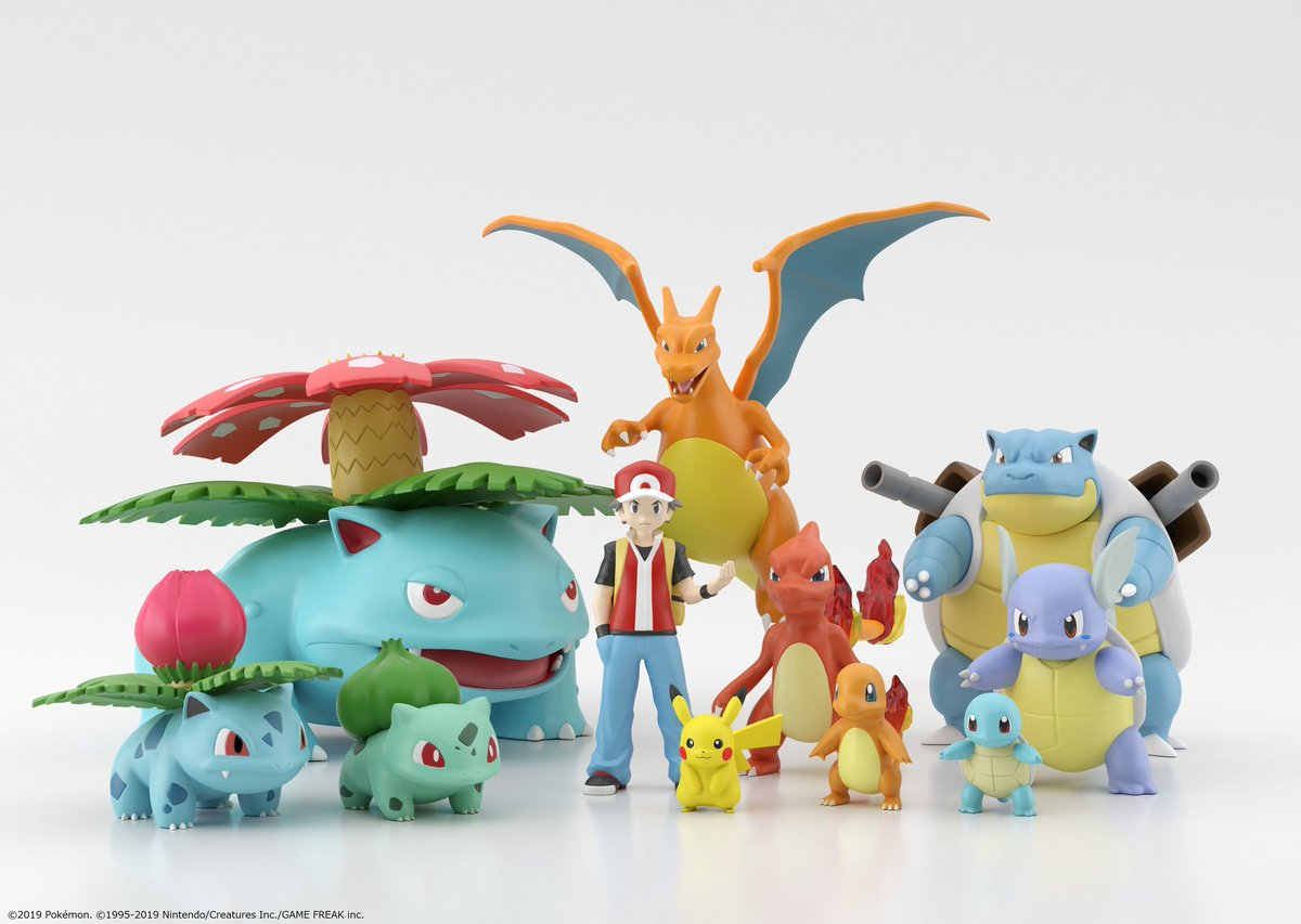Pokémon Scale World is a line of 1:20 scale figurines produced by Bandai and it's AMAZING! 😍