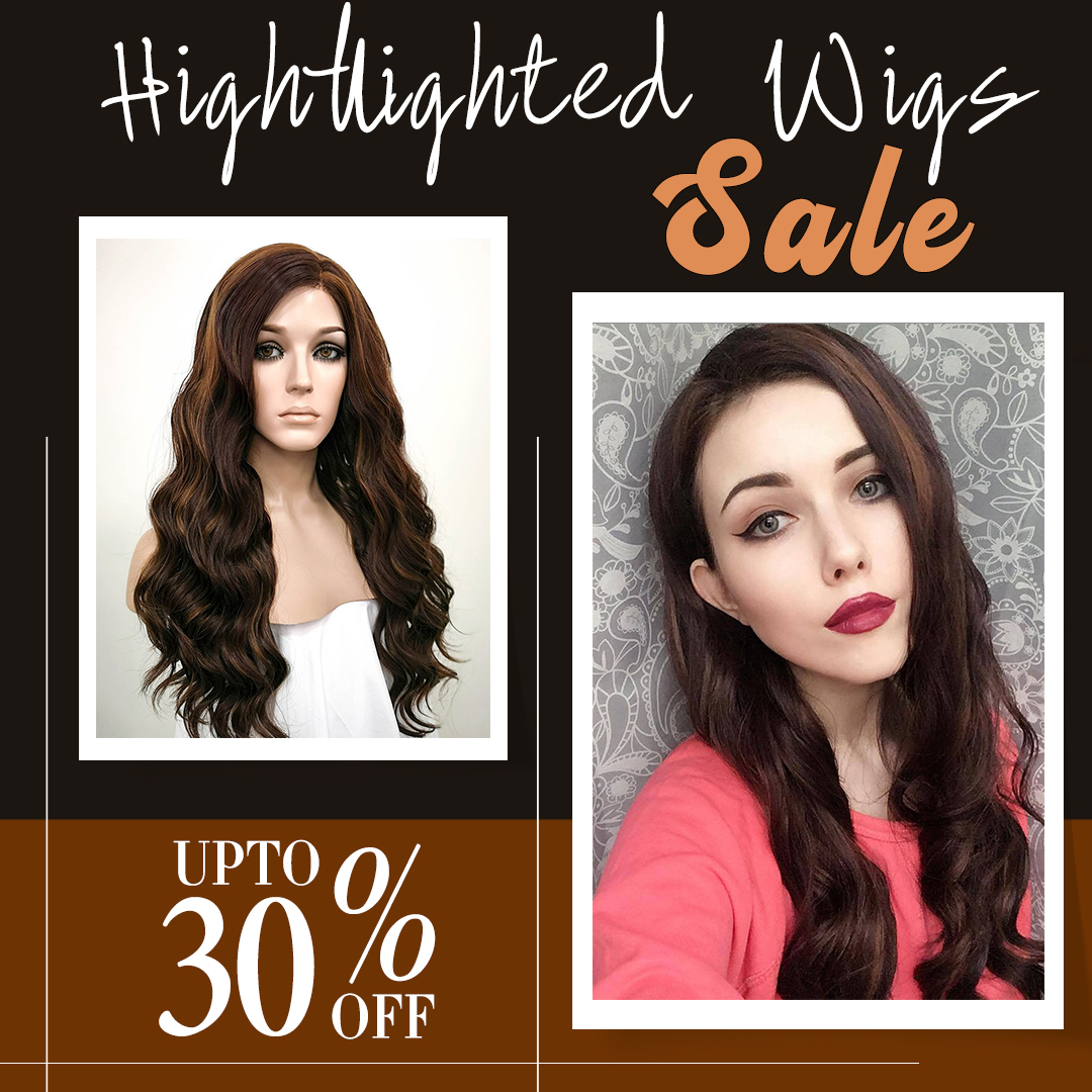 All eyes on these Hightlighted Wigs #Wigisfashion 😍😍 Up to 30% off👉👉  #wig #wigs #hairgoals #dailyhair #hairstyle #longhair #pinkhair #pastelhair #gorgeoushair #cute #beauty #kawaii #makeup #goth #fashion #fashionhair #drag #Hightlighted #cosplay