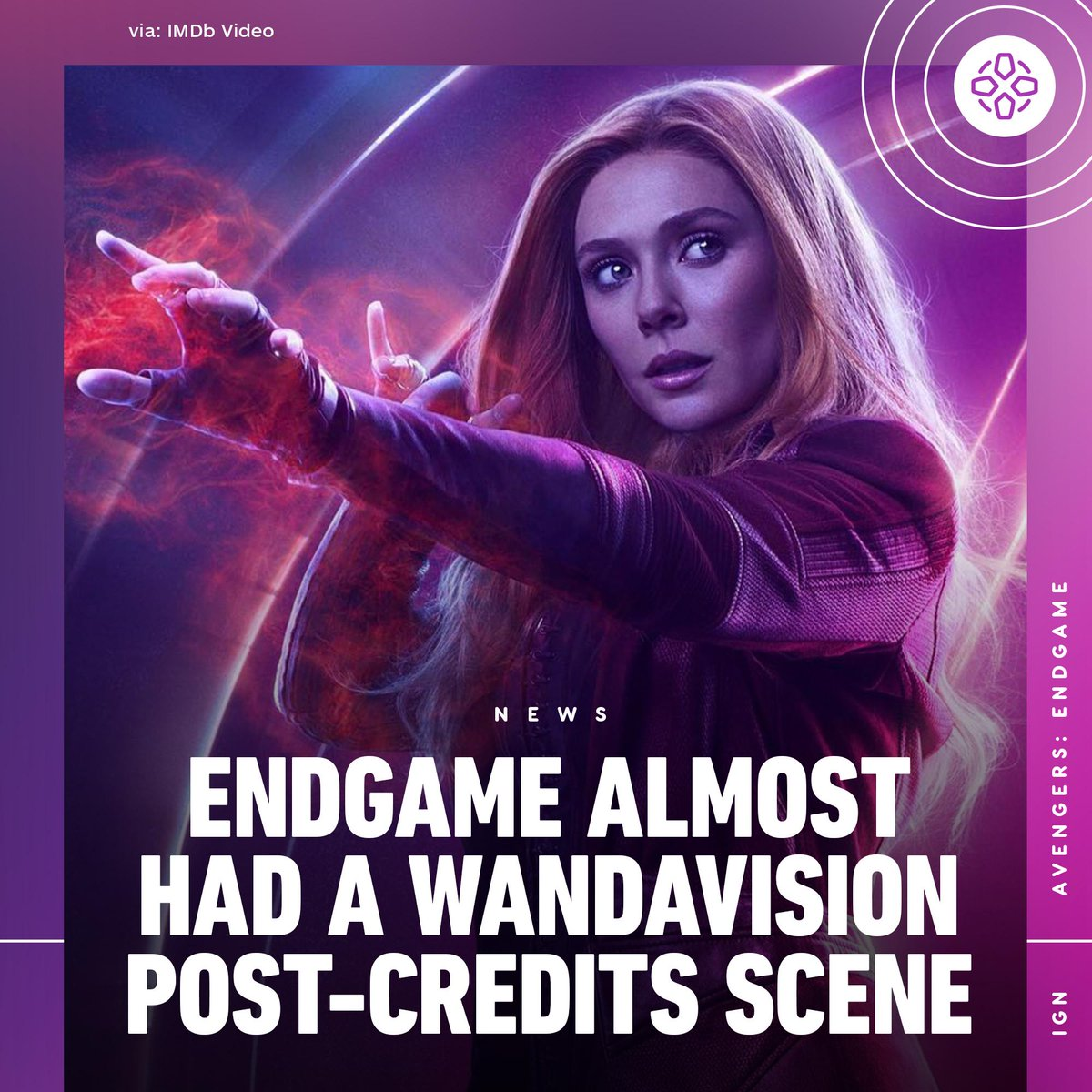 Kevin Feige reportedly cut a post-credit tag from Avengers: Endgame that featured Scarlet Witch procuring Vision's body after his death.