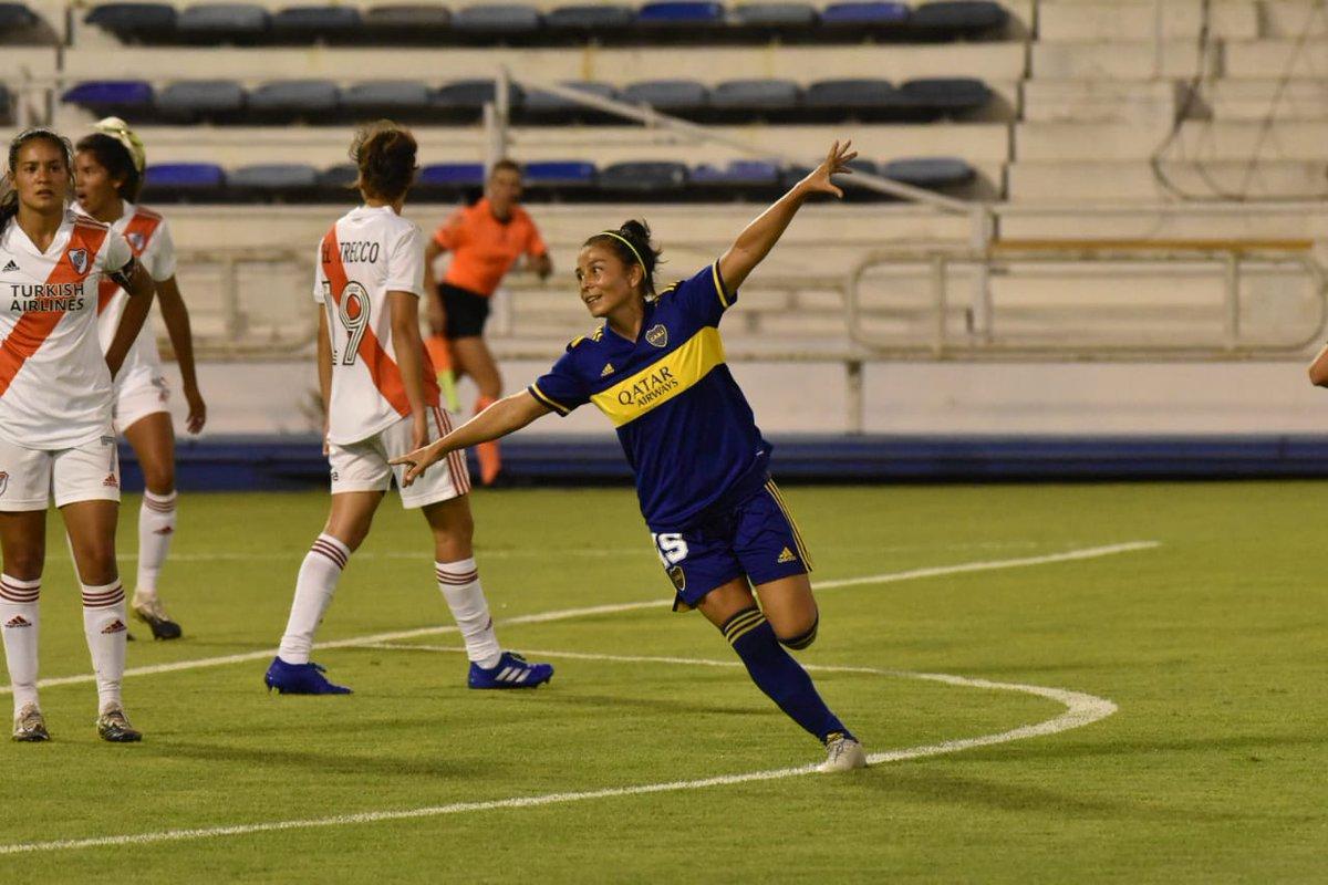 #SuperFinalSuperClásica 🏆  ¡@BocaJrsOficial campeón! Con los tantos de Huber, Rodríguez, Benítez, Vallejos (x2) y Ojeda (x2), derrotó 7-0 a @RiverPlate